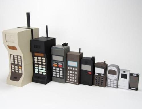 Quando foi que você comprou seu último celular?