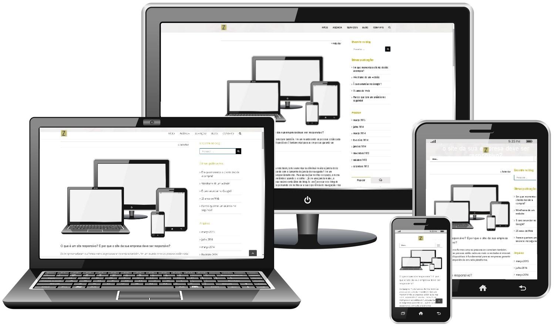 website responsivo zagaia digital