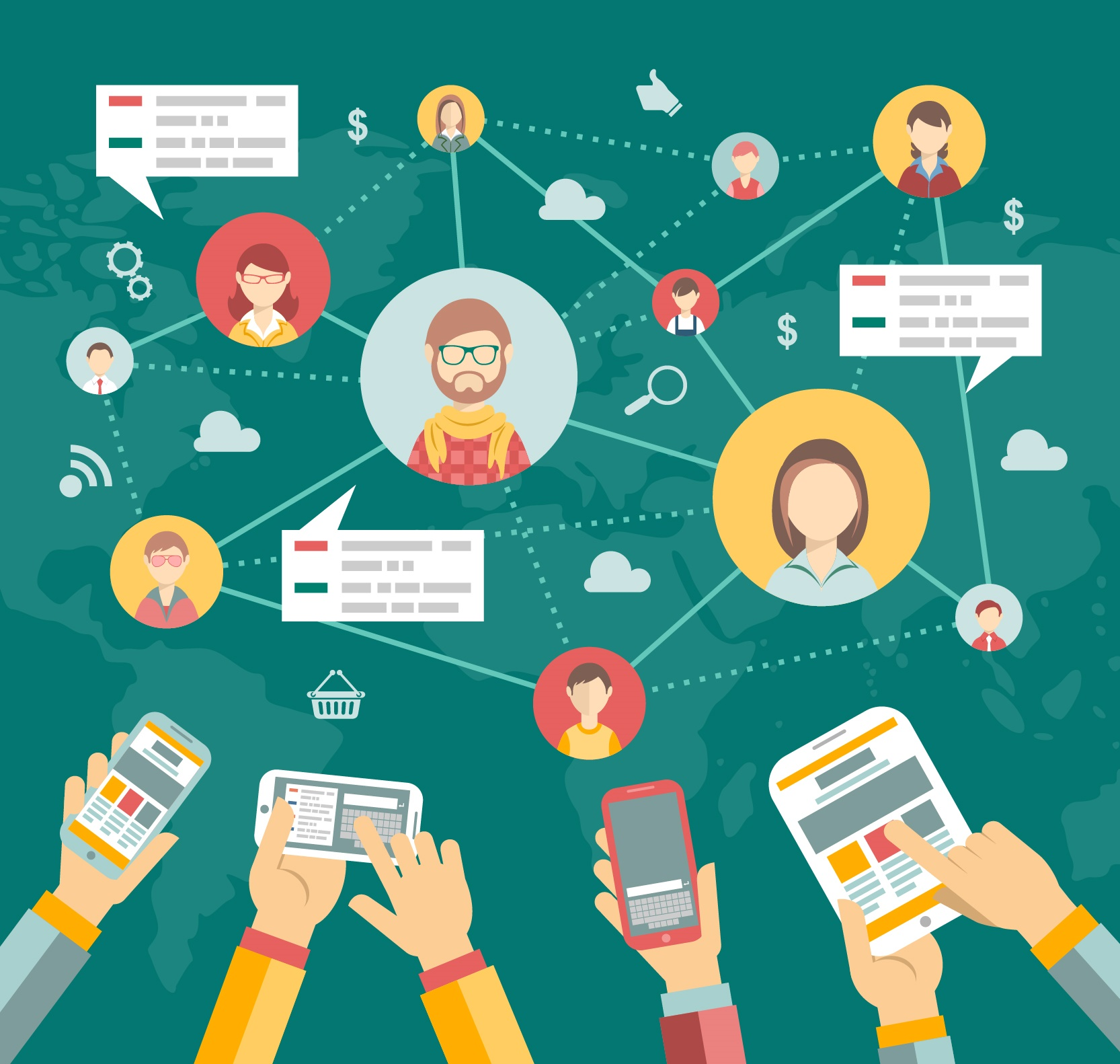 Como e a participação de sua empresa nas Redes Sociais