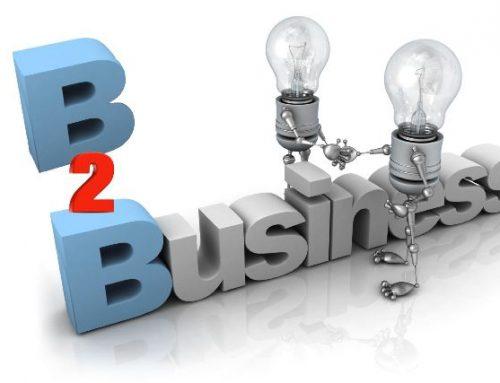 Usando marketing B2B em pequenas e médias empresas.